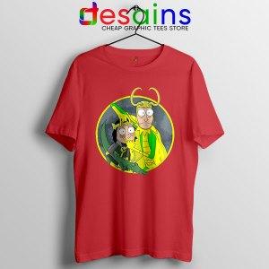 Classic Loki Rick Sanchez Red T Shirt Variant of Loki