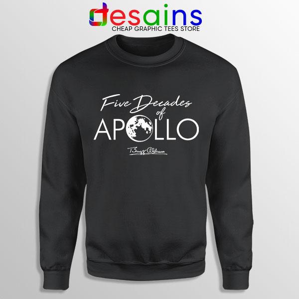 Five Decades of Apollo Sweatshirt Elon Musk