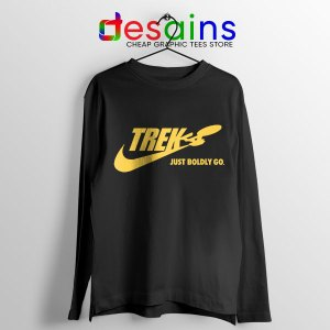 Go Boldly Star Trek Long Sleeve Tee Nike Just Do It