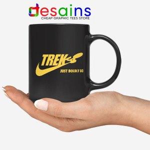 Go Boldly Star Trek Nike Mug Just Do It Logo