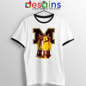 Michigan Fab 5 Roster Ringer Tee The Fab Five