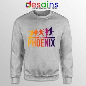 Phoenix Best 5 Lineup Sport Grey Sweatshirt Suns Finals NBA