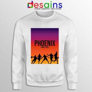 Phoenix Starting Finals White Sweatshirt NBA Suns Game