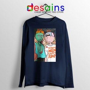 Best Doug Animated Series Navy Long Sleeve Tee Can't jump