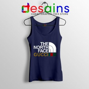 Cheap North Face Gucci Navy Tank Top Funny Apparel