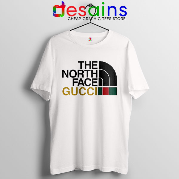 Cheap North Face Gucci T Shirt Funny Apparel