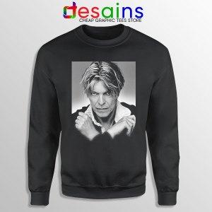 David Bowie Eyes Color Black Sweatshirt Album Cover