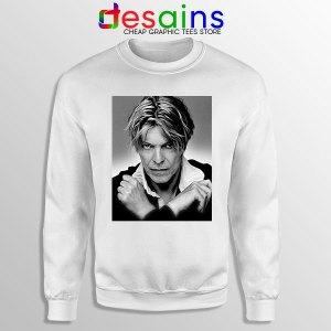 David Bowie Eyes Color Sweatshirt Album Cover