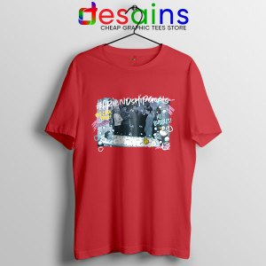Friends Tv Show Bathroom Red T Shirt Chandler Bath