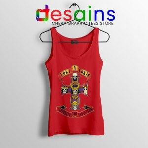 Loki Appetite for Destruction Red Tank Top Guns N Roses