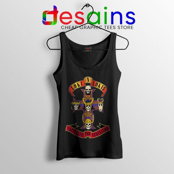 Loki Appetite for Destruction Tank Top Guns N Roses