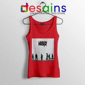 Minutes to Midnight Cover Art Red Tank Top Linkin Park