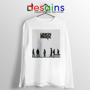 Minutes to Midnight Cover Art White Long Sleeve Tee Linkin Park