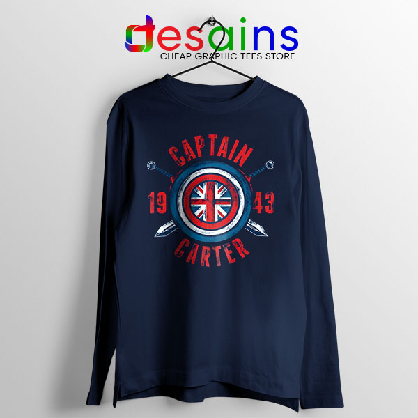 Shield Captain Carter Long Sleeve Tee What If Series