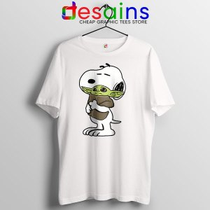 Snoopy Baby Yoda Friends T Shirt Mandalorian