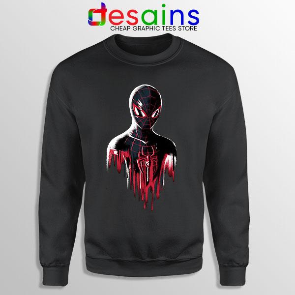 Spider Man Into Multiverse Sweatshirt Marvel Comics