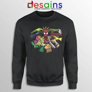 Spider Man Multiverse Vilains Sweatshirt No Way Home