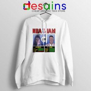 The Jump NBA Finals White Hoodie Nichols TMac