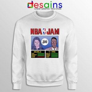The Jump NBA Finals White Sweatshirt Nichols TMac