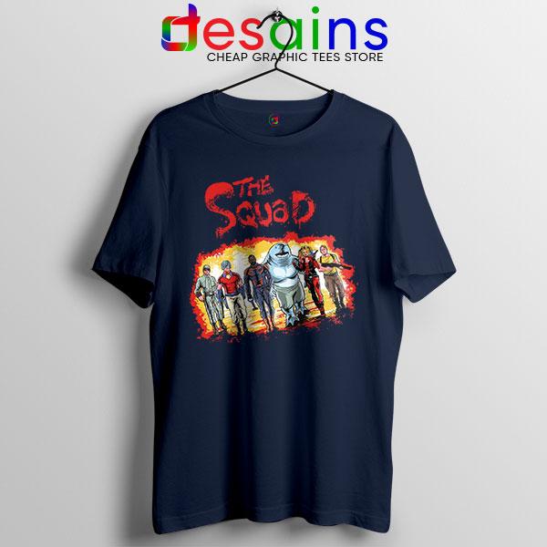 The New Suicide Squad Navy T Shirt DC Comics