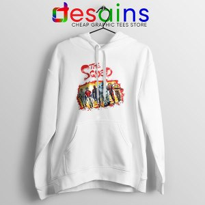 The New Suicide Squad White Hoodie DC Comics