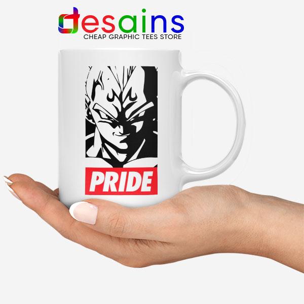 The Prince Vegeta White Mug Super Dragon Ball Z