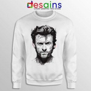 X Men Wolverine Art Sweatshirt Hugh Jackman