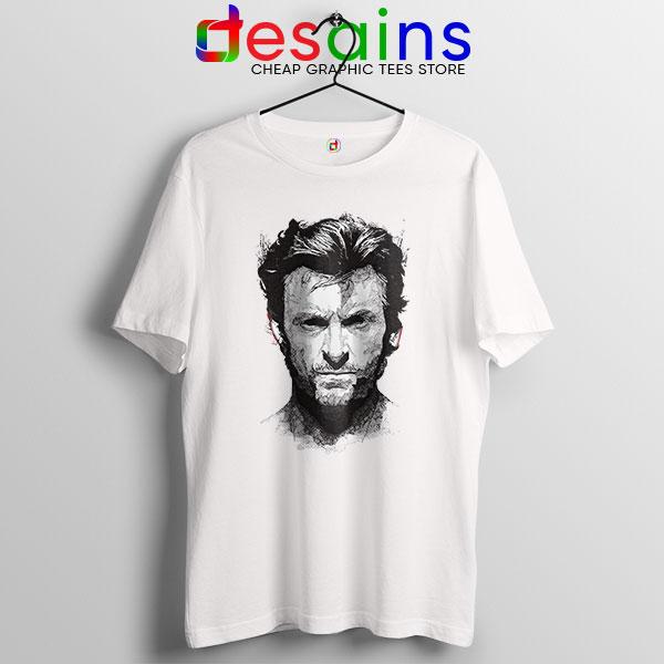 X Men Wolverine Art T Shirt Hugh Jackman