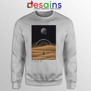 Arrakis Dune Desert Art Sport Grey Sweatshirt Planet Deserts