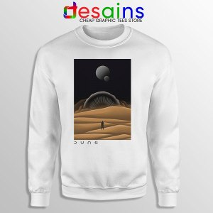 Arrakis Dune Desert Art Sweatshirt Planet Deserts