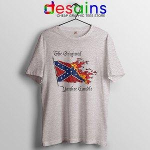 Best Original Yankee Candle Flag Sport Grey T Shirt American