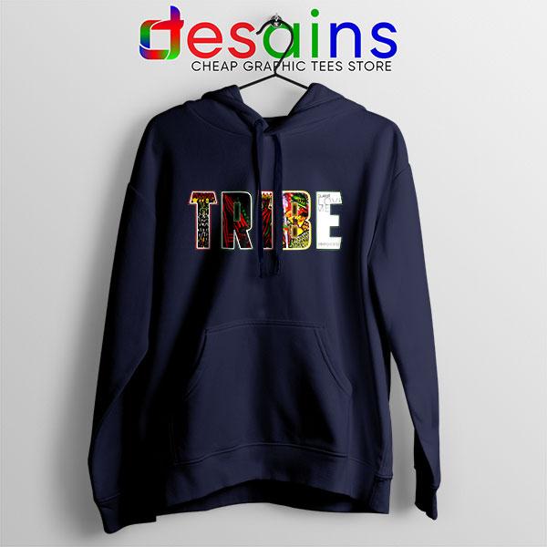 Best Tribe Called Quest Merch Navy Hoodie Hip Hop