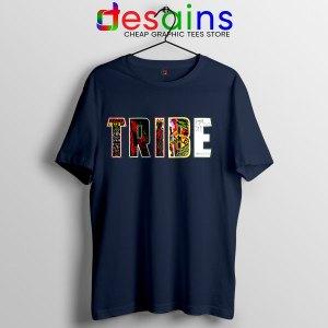 Best Tribe Called Quest Merch Navy T Shirt Hip Hop