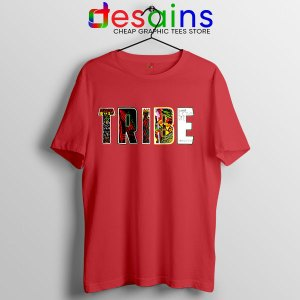 Best Tribe Called Quest Merch Red T Shirt Hip Hop