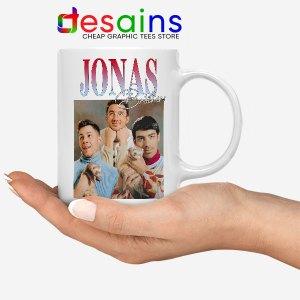 Buy Jonas Brothers Merch Retro Mug Jobros