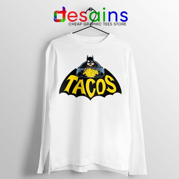 Buy Tacos Taco Bell Batman Long Sleeve Tee DC Comics