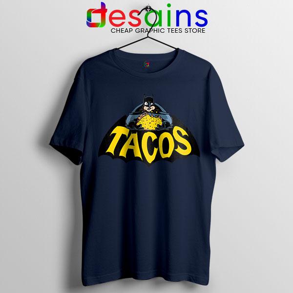 Buy Tacos Taco Bell Batman Navy Tshirt DC Comics Funny