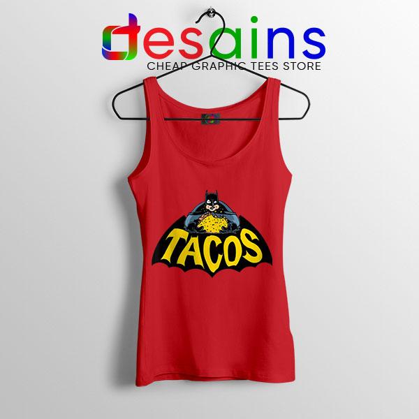 Buy Tacos Taco Bell BatmanRed Tank Top DC Comics
