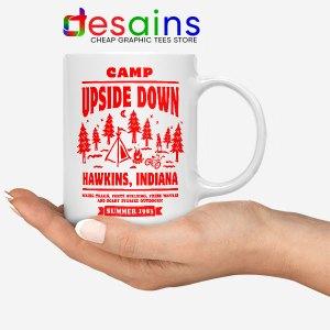 Camp Upside Down Hawkins Mug Stranger Things
