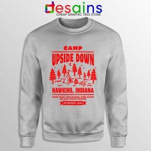 Camp Upside Down Hawkins Sweatshirt Stranger Things