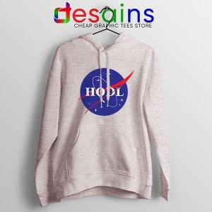 Crypto HODL NASA logo Sport Grey Hoodie