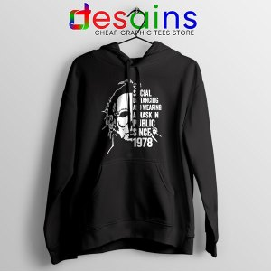 Funny Michael Myers Covid Hoodie Real Face