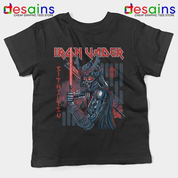 Iron Vader Maiden Samurai Kids Tee Star Wars