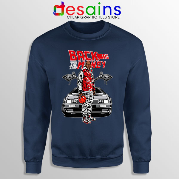 Jordan Back to the DeLorean Navy Sweatshirt Nike Air