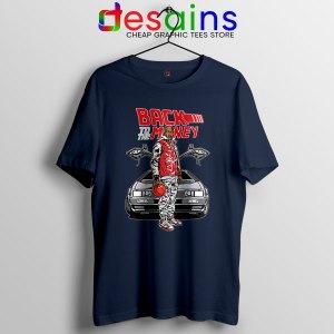 Jordan Back to the DeLorean Navy Tshirt Nike Air