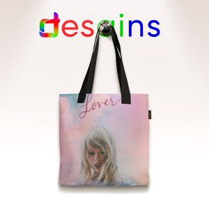 Lover Merch Taylor Swift AOP Tote Bag Graphic