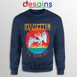 North American Tour 1975 Sweatshirt Led Zeppelin Merch