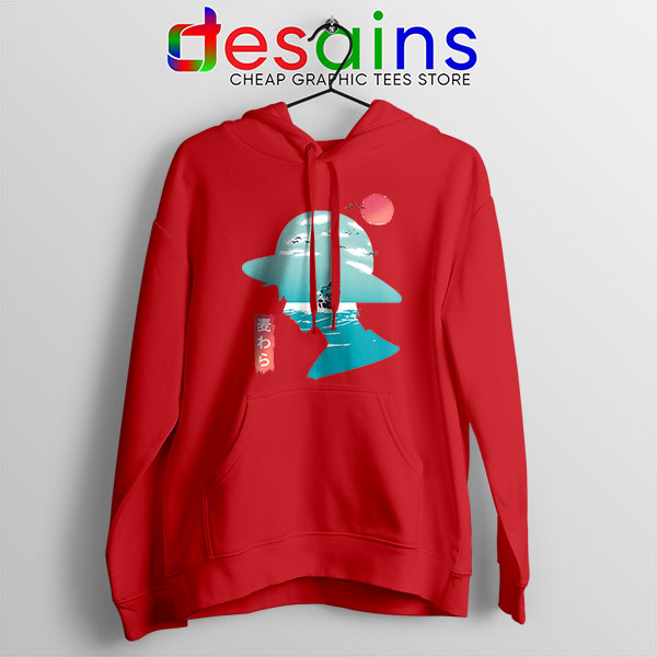 One Piece Good Day to Sail Red Hoodie Monkey D Luffy