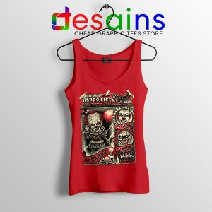 Pennywise The Clown Bobblehead Red Tank Top IT Movie