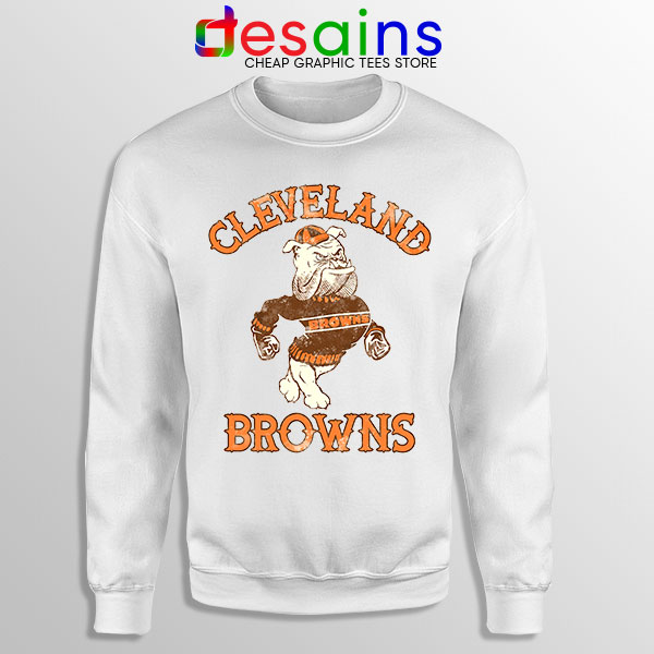 Retro Symbol Cleveland Browns Sweatshirt NFL